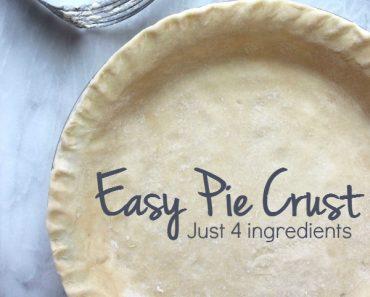 All Created - 4 Ingredient Pie Crust
