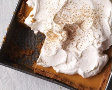 Pumpkin Pie Freezer Cake