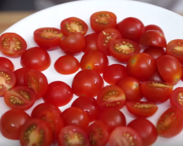 All Created - How to Cut Cherry Tomatoes