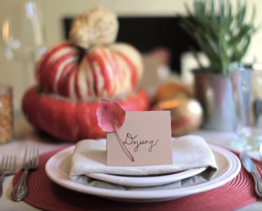 All Created - Thanksgiving Table Ideas