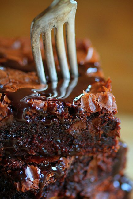 The Best Homemade Brownies - So Gooey - All Created