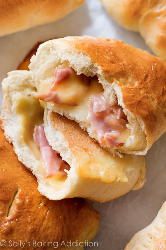 All Created - Homemade Ham and Cheese Pockets