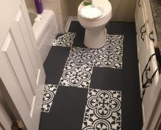 All Created - Tiled Bathroom Floor