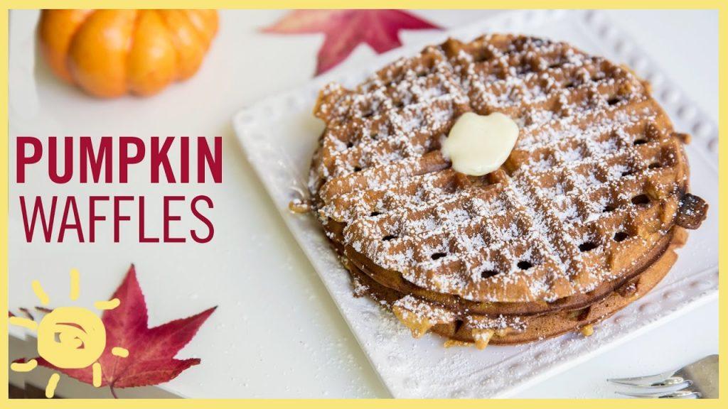 All Created - Pumpkin Waffles