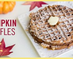 All Created - Pumpkin Waffles