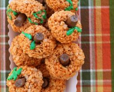 All Created - Rice Krispies Pumpkins