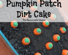 All Created - Pumpkin Patch Dirt Cake