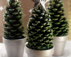 Christmas Tree Pinecone