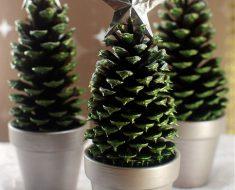 Christmas Tree Pinecone