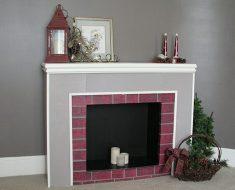 All Created - Cardboard Fireplace
