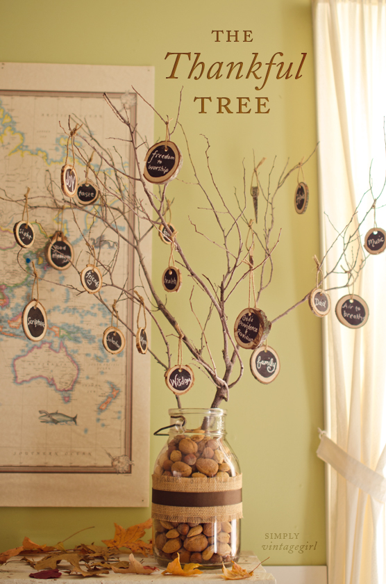 Show Your Gratitude This Thanksgiving A Thankful Tree