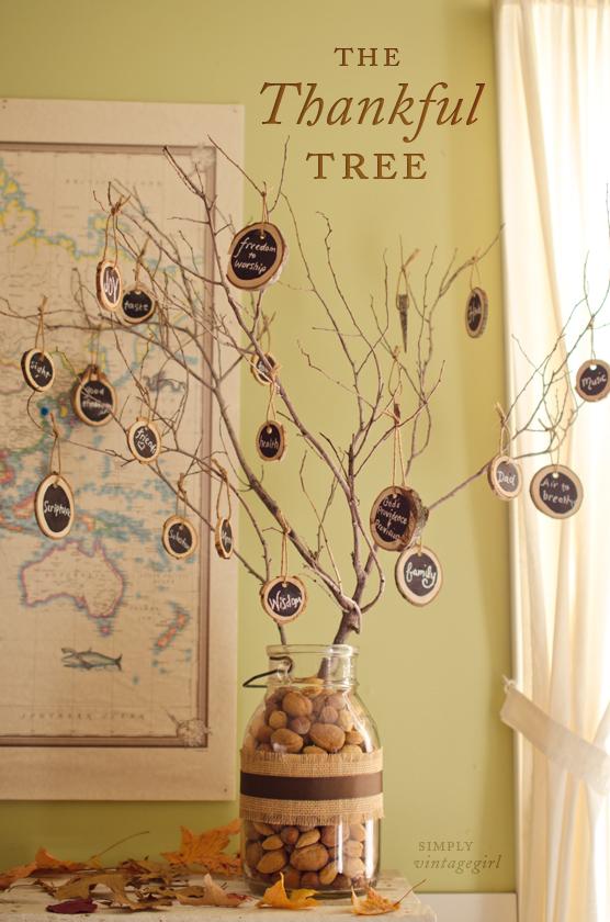 All Created - thankful tree