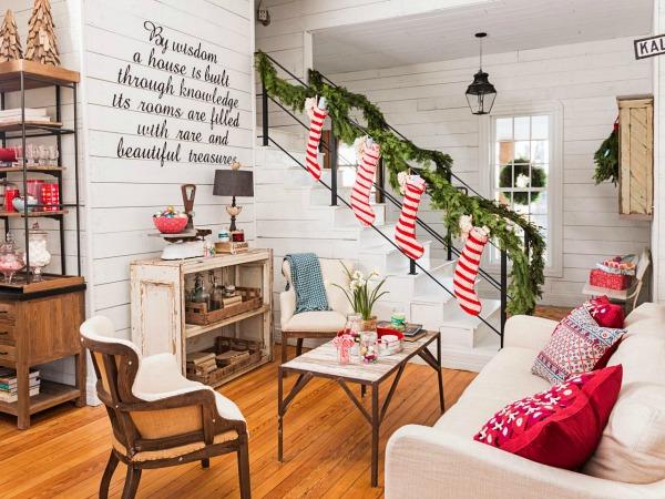 All Created - Joanna Gaines Farmhouse Christmas Decor