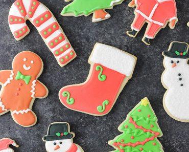 All Created - Best Christmas Sugar Cookies