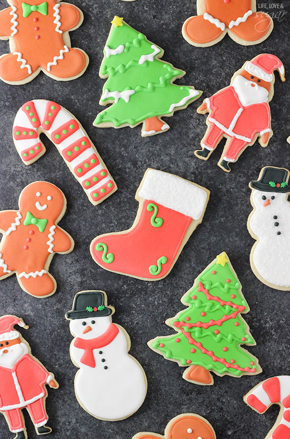 the softest and best christmas sugar cookies - Best Christmas Sugar Cookie Recipe