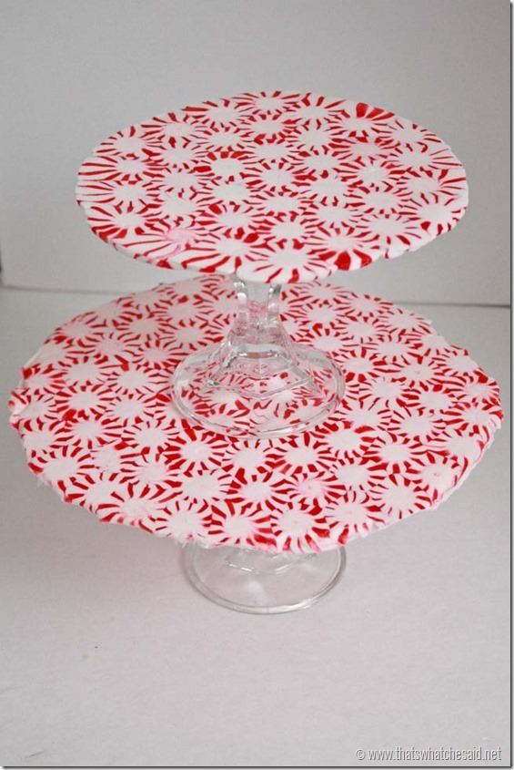 All Created - Peppermint Plate