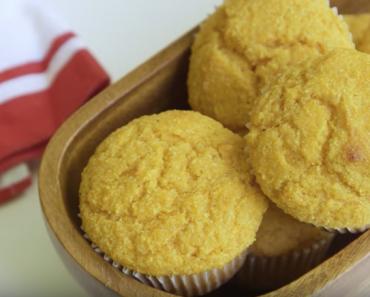 Festive Sweet Potato Cornbread Muffins