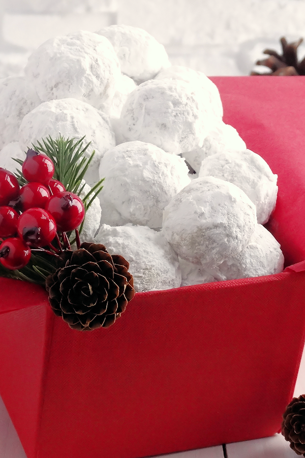 All Created - Snowball Christmas Cookies