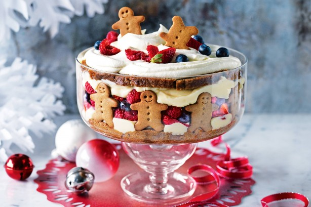 All Created - Gingerbread Trifle