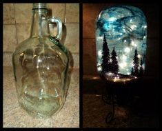 All Created - Starry Night jar