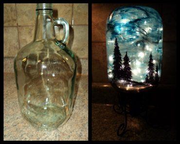 All Created - Starry Night jar