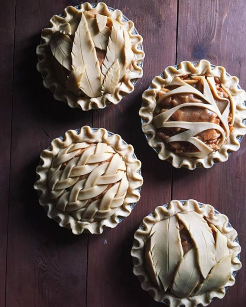 All Created - fall pie crust