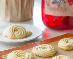 All Created - Butter Swirl Shortbread Cookies