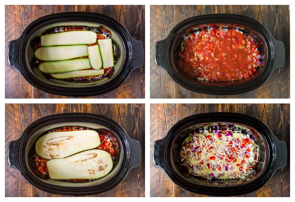 Crock Pot Low Carb Zucchini Lasagna All Created