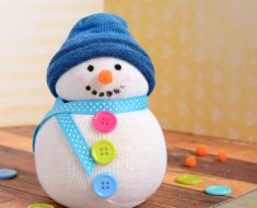 All Created - No Sew Sock Snowman