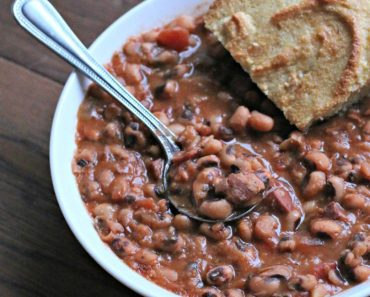 All Created - Traditional New Year's Black Eyed Peas