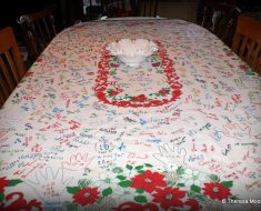 All Created - Holiday Tablecloth Tradition