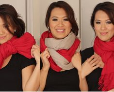 All Created - 6 Ways To Tie a Scarf