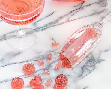 All Created - Rosé Champagne Gummy Bears