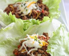 All Created - Turkey Lettuce Taco Wraps