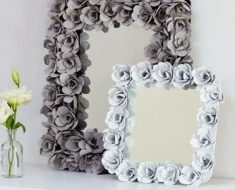 All Created - Egg Carton Photo Frame