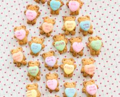 All Created - Teddy Bear Conversation Hearts