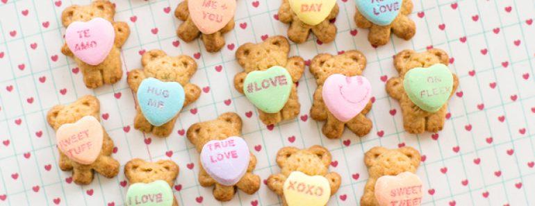 All Created - Teddy Bear Conversation Hearts