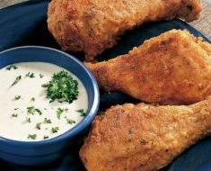 All Created - Oven Fried Ranch Drumsticks