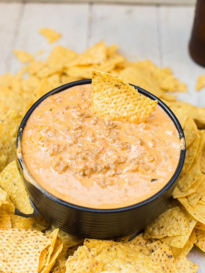All Created - Taco Beer Dip