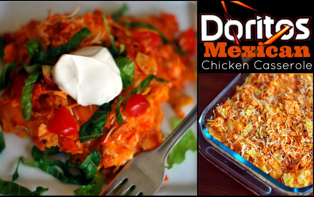recipe for cheesy chicken doritos casserole