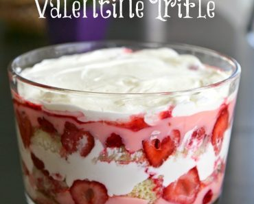 All Created - Valentine's Day Trifle Bowl