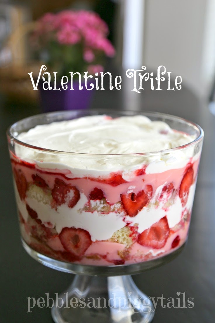 Valentine's Day Trifle Bowl That Is Easy and Yummy - All Created
