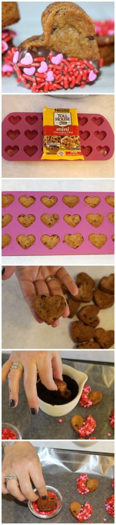 All Created - Chocolate Chip Cookie Hearts