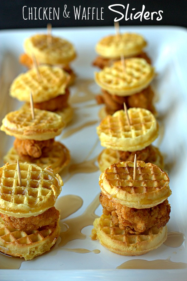 All Created - Chicken and Waffle Sliders