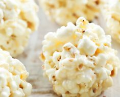 All Created - Marshmallow Popcorn Ball