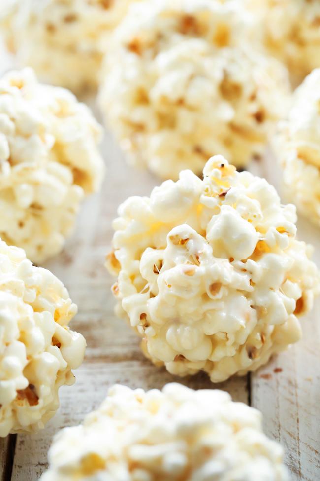All Created - Marshmallow Popcorn Ball
