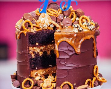 All Created - Chocolate Peanut Butter Mega Cake