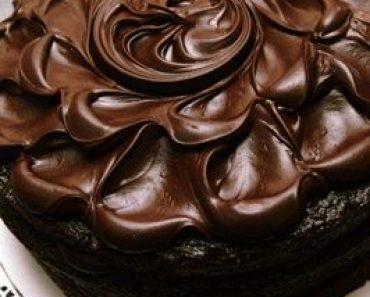 All Created - Old Fashioned Chocolate Mayo Cake