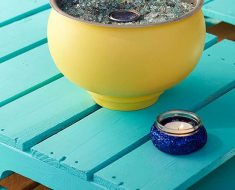 All Created - DIY Tabletop Fire Bowls