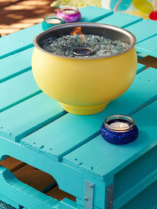 DIY Tabletop Fire Bowls Bring The Perfect Amount Of Warmth And Flare